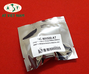 Chip mực máy photo sharp MX M363U/M453U